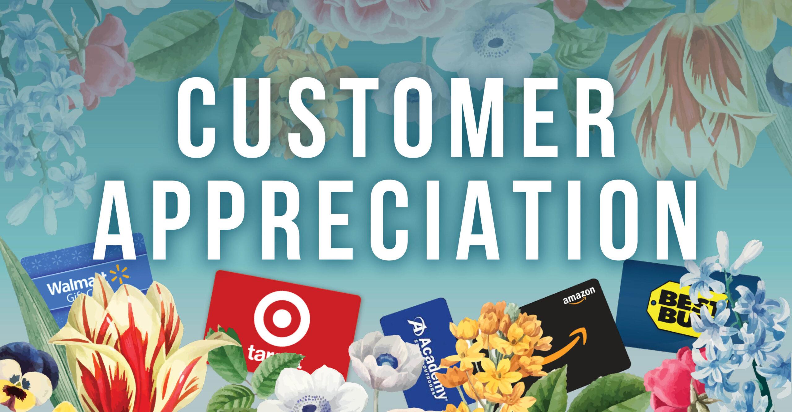 Golden Pony April Customer Appreciation