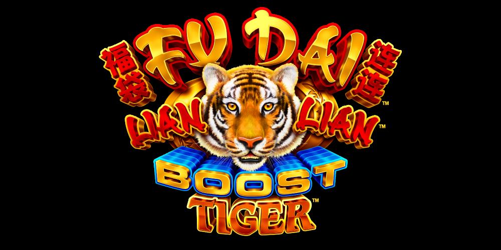 fu dai lian lian boost tiger logo